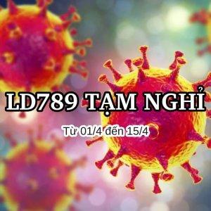 Công ty LD789 tạm nghỉ từ 01/4 đến hết 15/4/2020 vì dịch Covid-19